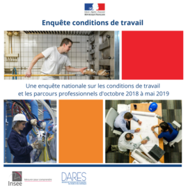 INSEE – ENQUETE  SUR LE CONDITIONS DE TRAVAIL